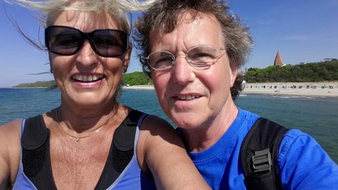 Küstenfrisur ohne Haarspray! -Selfie auf der Seebrücke Ostseebad Rerik