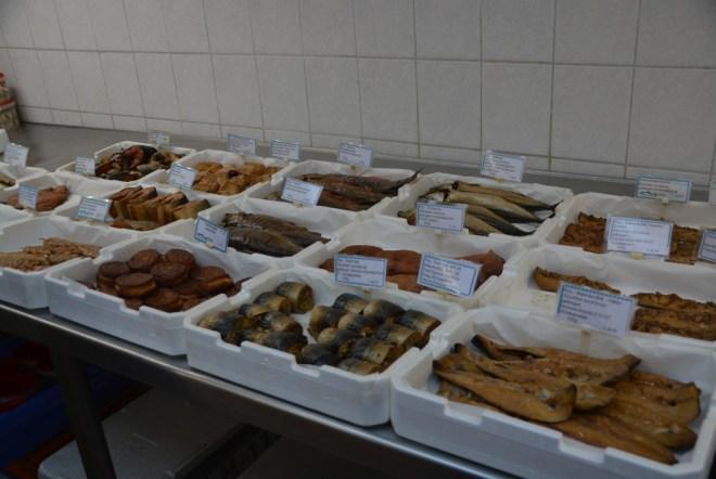 Leckeres aus der Fischhalle Wismar