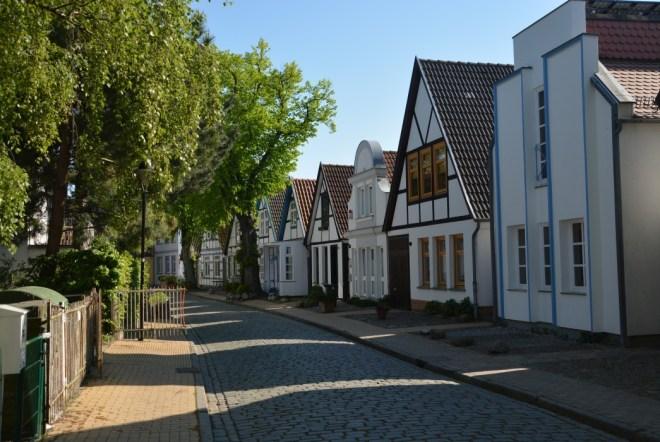 Fischerhäuser in der Altstadt von Warnemünde