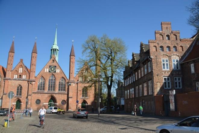 Das Heiligengeist-Hospital, seit 700 Jahren Altenheim
