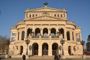 die Alter Oper in Frankfurt