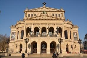 die Alter Oper in Frankfurt