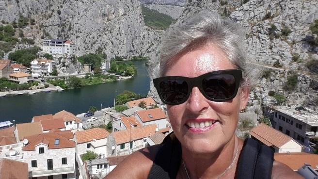 Blick auf Dinaragebirge und die Cetina