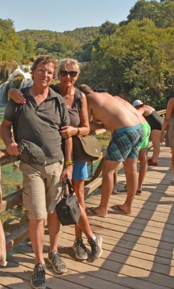 Touris auf der 'Old Shatterhand-Brücke