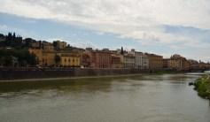 Arno in Florenz