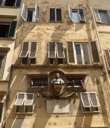 Hausfassade Florenz