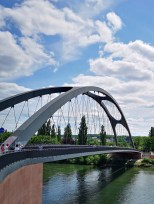 Neue Osthafenbrücke