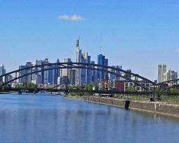 Skyline Frankfurt im Lockdown