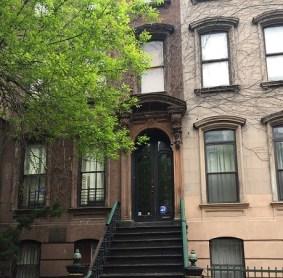 Hughes' classic Harlem brownstone