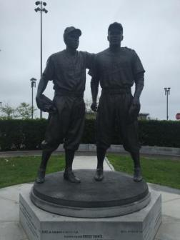 Jackie Robinson and Pee Wee Reese Monument