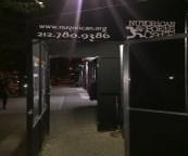 The Cafe entrance