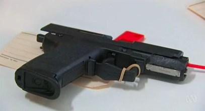 Seized Glock Pistol