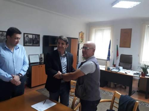 """Потпишан договорот со Националниот Археолошки Институт и Музеј на Софија, Р.Бугарија за јубилејната изложба """"100 години Требениште"""""""