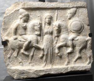 Вотивен релјеф на Диоскурите, II век
