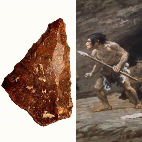 Палеолитскиот човек во старото камено време