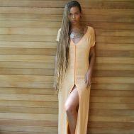 beyonce-tumblr-melon-dress