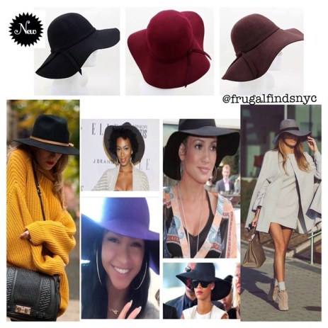 Breezy Wool Big Floppy Hat $34.99