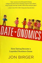 Important Read About Love: DATEONOMICS by Jon Birger. If Traister's book served as any reassurance, Birger's reads as positively unsettling. How? Well, many single women my age lament a seeming lack of eligible men around us. Birger finds it to be reassuring that the numbers support our claim; that's not the word I would have used. In any case, I still appreciated his in-depth analysis of how this disparity developed, where it is reversed or otherwise more favorable, and what can be done in the future to reverse (or stabilize) the trend.