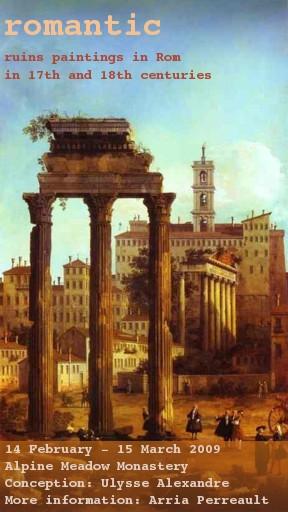 romantic. ruins paintings