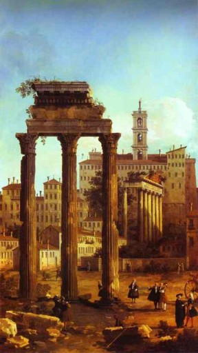 Ruins of the Forum, Looking towards the Capitol