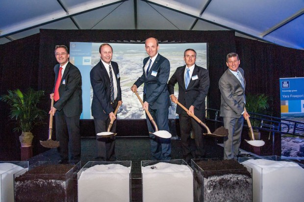 Freeport BASF-Yara-Groundbreaking