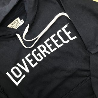 Navy LoveGreece Hoodie