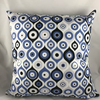 Blue A&S Pillow