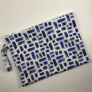 Blue Touches Pouch