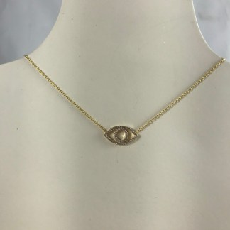 Gold Athens Necklace