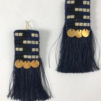 Morfo Blue Earrings