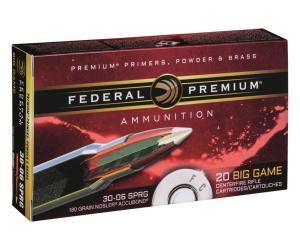 Buy Federal Premium Vital-Shok 30-06 Springfield Nosler AccuBond Polymer Tipped 180 Grain Online