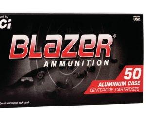 Buy CCI Ammunition Blazer Aluminum 380 ACP Full Metal Jacket Online