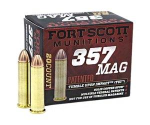 Buy Fort Scott Munitions 357 MAGNUM 125 Grain Ammo Online