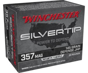 Buy Winchester SUPER-X 357 Magnum Silvertip Jacketed Hollow Point Online