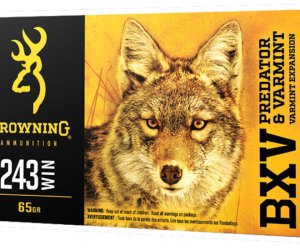 Browning BXV .243 Winchester 65 Grain Polymer Tip For Sale 500rnd