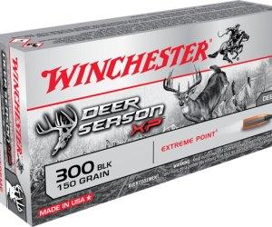 Buy Winchester DEER SEASON XP 300 AAC Blackout 150gr EPPT Online