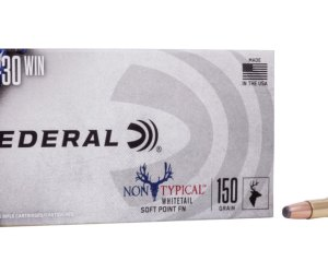 Federal Premium Non-Typical .30-30 Winchester 150 grain Non-Typical Soft Point Centerfire Rifle Ammunition 500rnd