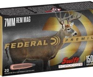 Federal Premium SWIFT SCIROCCO .270 Winchester 130 grain Swift Scirocco Polymer Tip