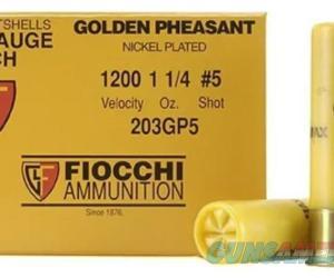 Fiocchi Golden Pheasant Ammunition 20 Gauge