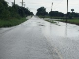 Photo courtesy of Boyle County Emergency Management Water covers Old Hustonville Road in Junction City Sunday.
