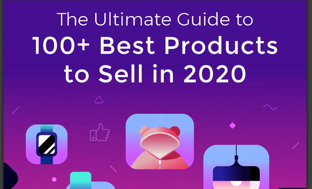 100 best products to sell in 2020 bonus