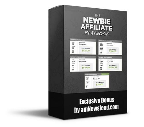 newbie affiliate playbook bonus