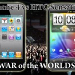 iPhone 4 vs HTC Sensation