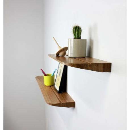 etagere au design epure en bois