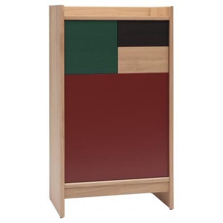 meuble de rangement design modulable en bois massif fabrique en france bric 60