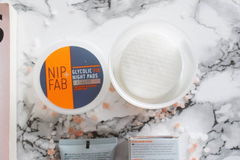 Image result for nip + fab glycolic fix night pads extreme