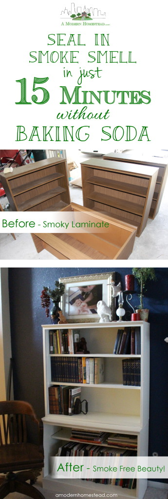 How to Seal In Smoke Smell without Baking Soda