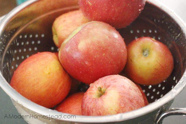 Apples for crockpot apple butter