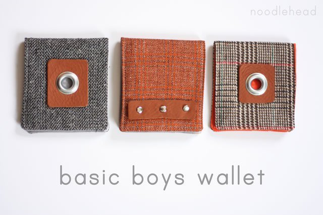 DIY wallet pattern christmas gifts for kids