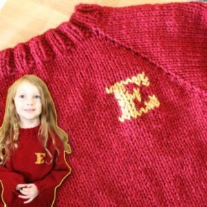 how to knit a weasley sweater